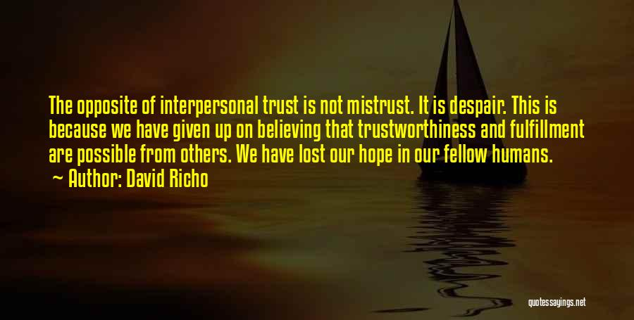 David Richo Quotes 346803