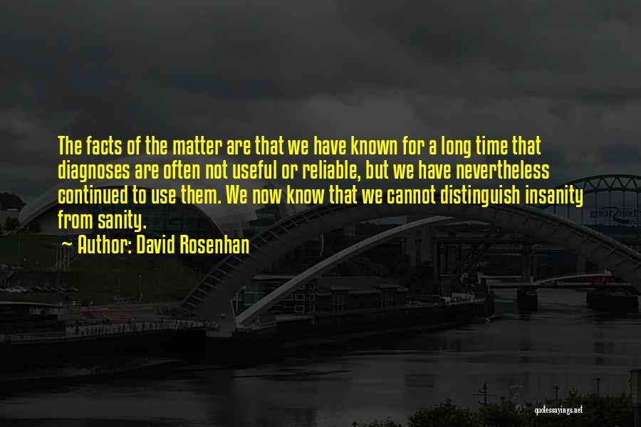 David Rosenhan Quotes 2265823