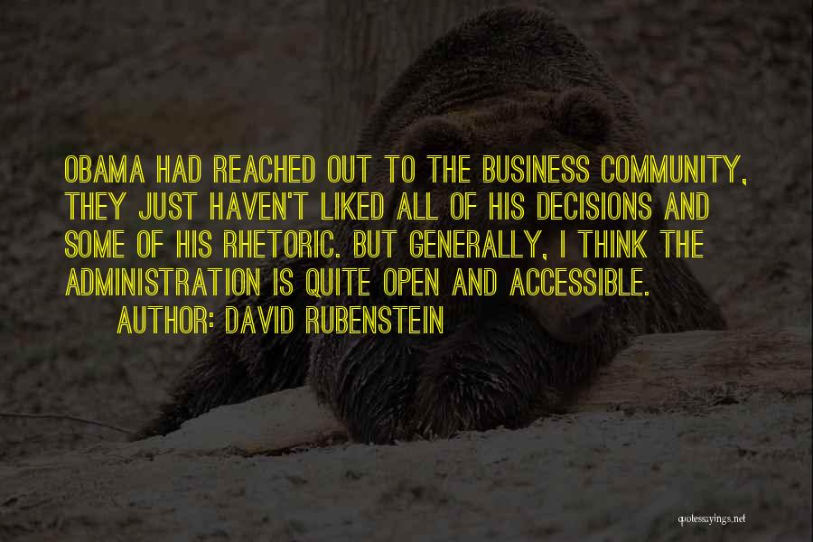 David Rubenstein Quotes 384164