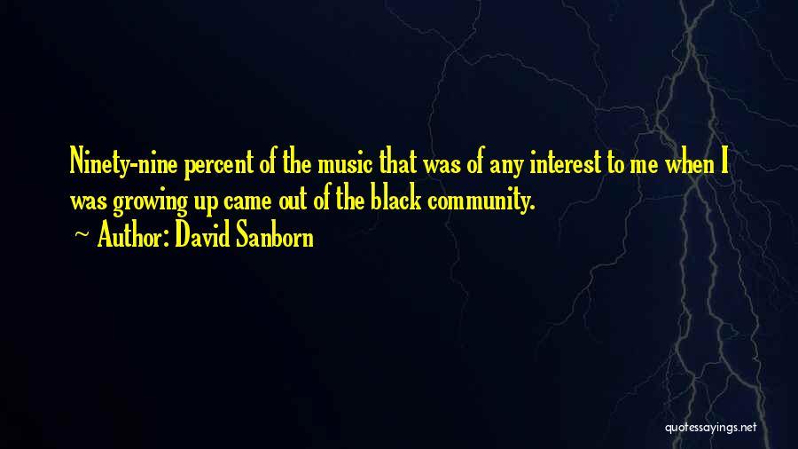David Sanborn Quotes 1054189