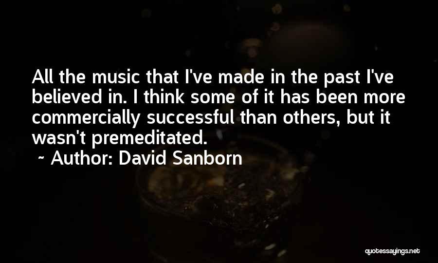 David Sanborn Quotes 1340954
