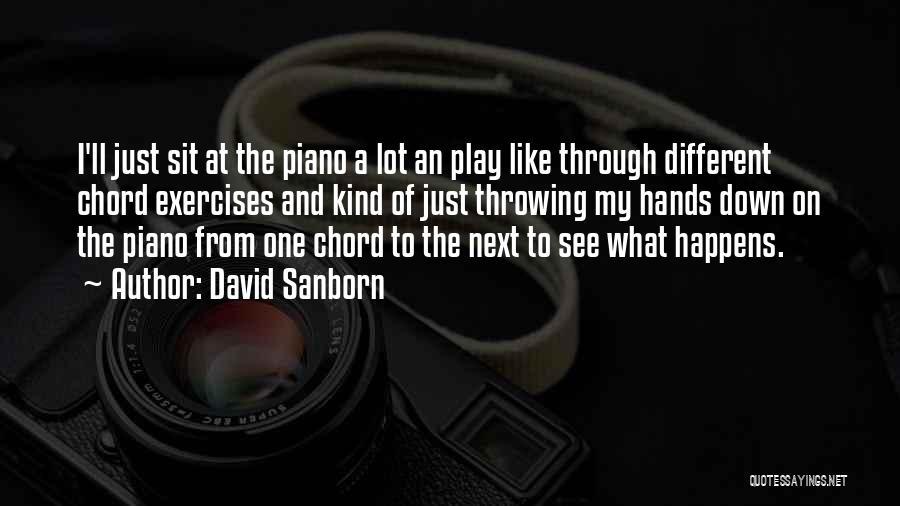 David Sanborn Quotes 1341034