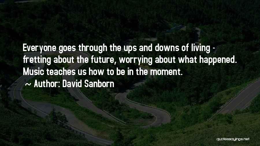 David Sanborn Quotes 1379266