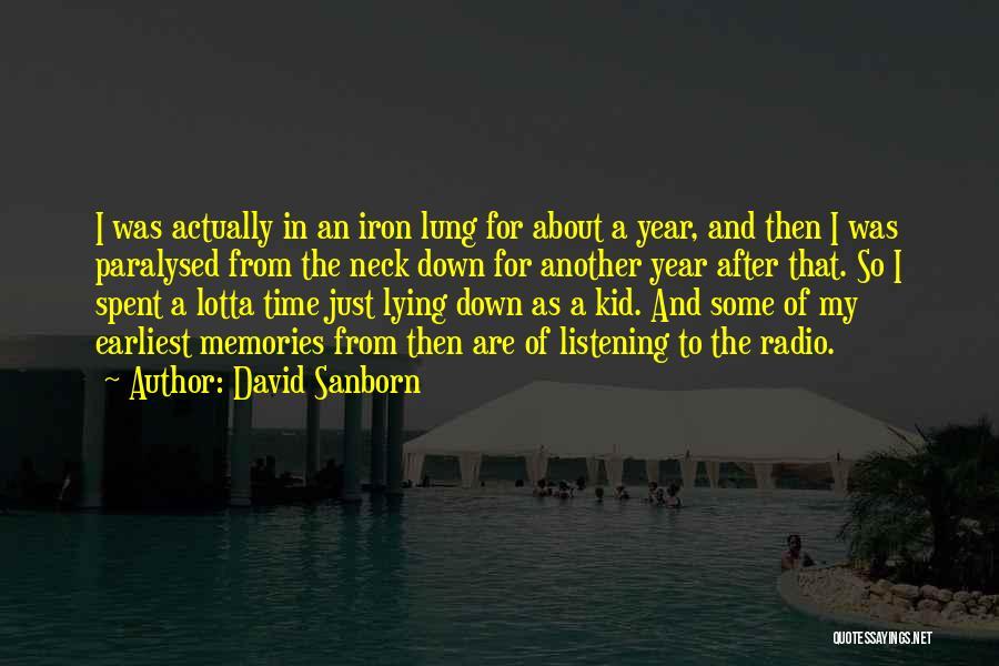 David Sanborn Quotes 1672061