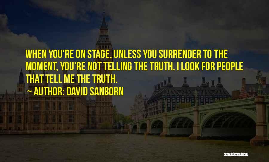 David Sanborn Quotes 1961119