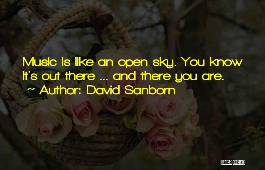 David Sanborn Quotes 2057765