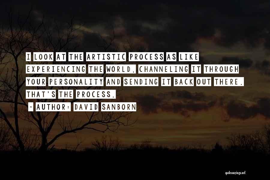 David Sanborn Quotes 2124312