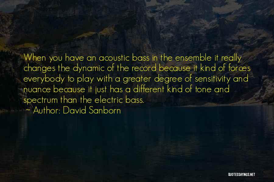 David Sanborn Quotes 2197127