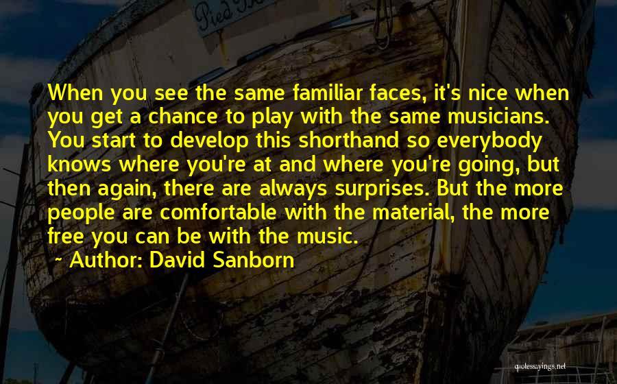 David Sanborn Quotes 582203