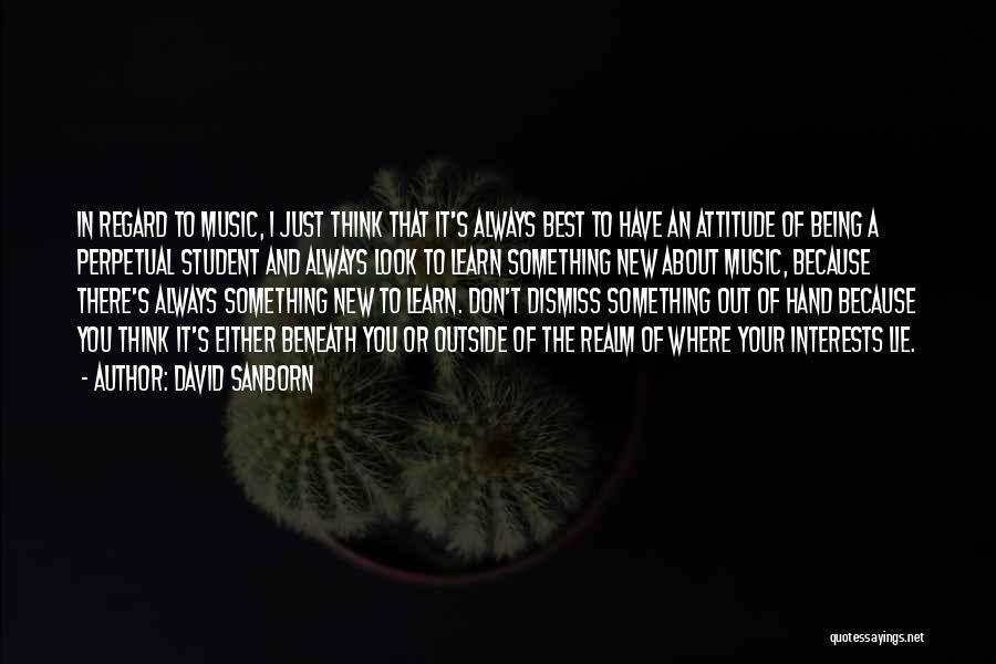 David Sanborn Quotes 972290
