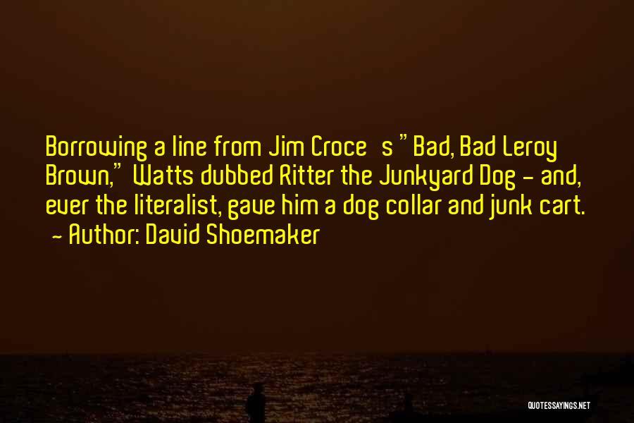 David Shoemaker Quotes 1588515