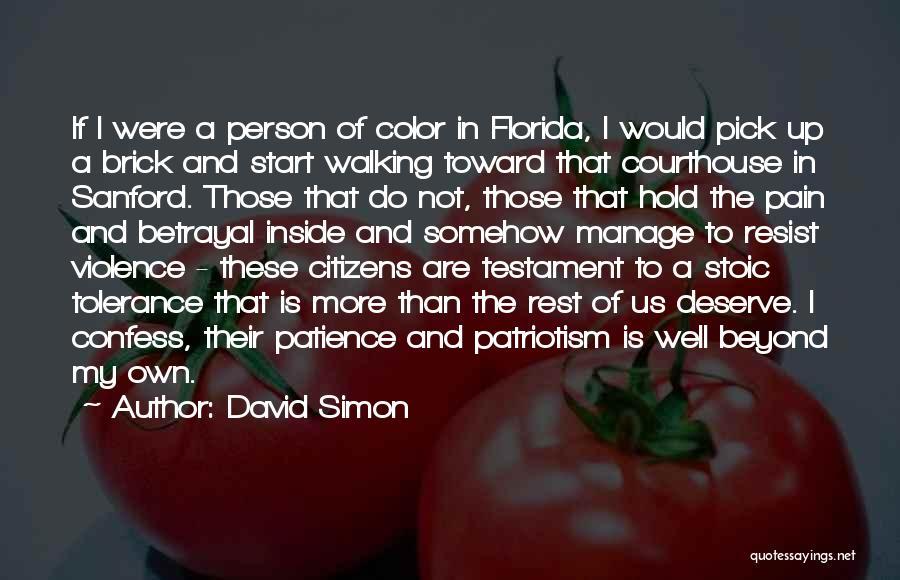 David Simon Quotes 1039124