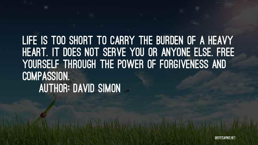 David Simon Quotes 1648316