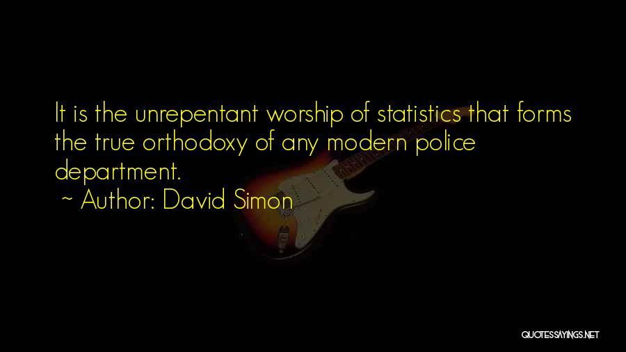 David Simon Quotes 1703847