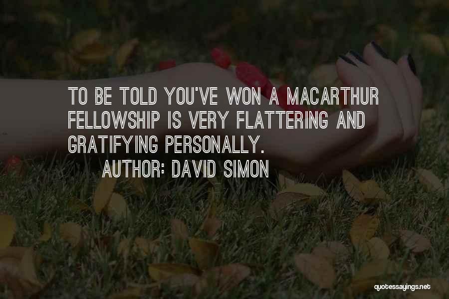 David Simon Quotes 184778