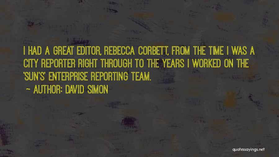 David Simon Quotes 311911