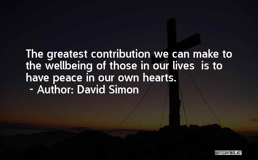 David Simon Quotes 969204