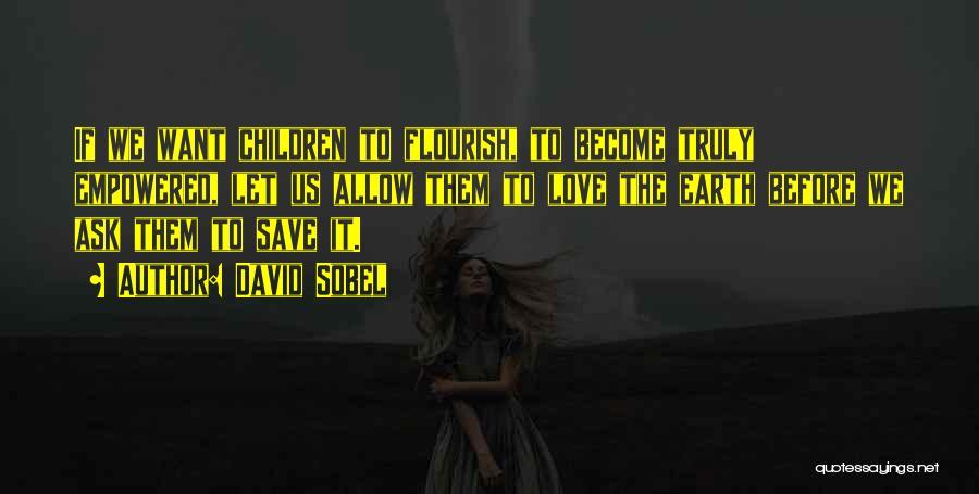 David Sobel Quotes 1958722