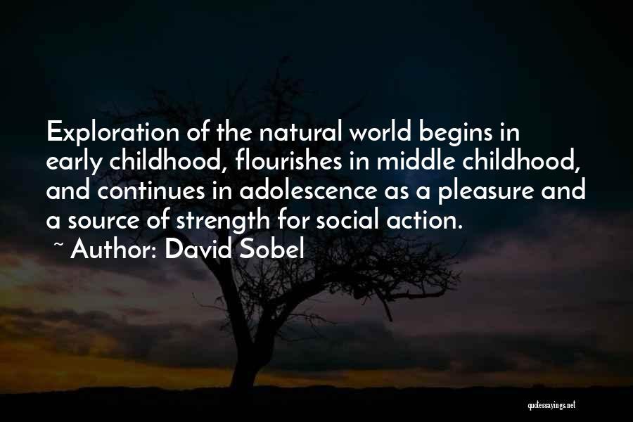 David Sobel Quotes 860351