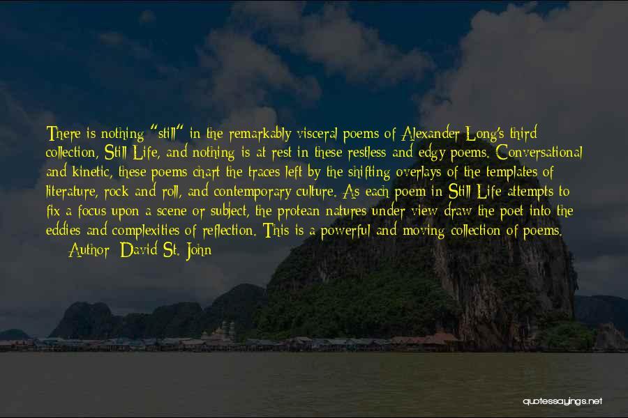 David St. John Quotes 104928