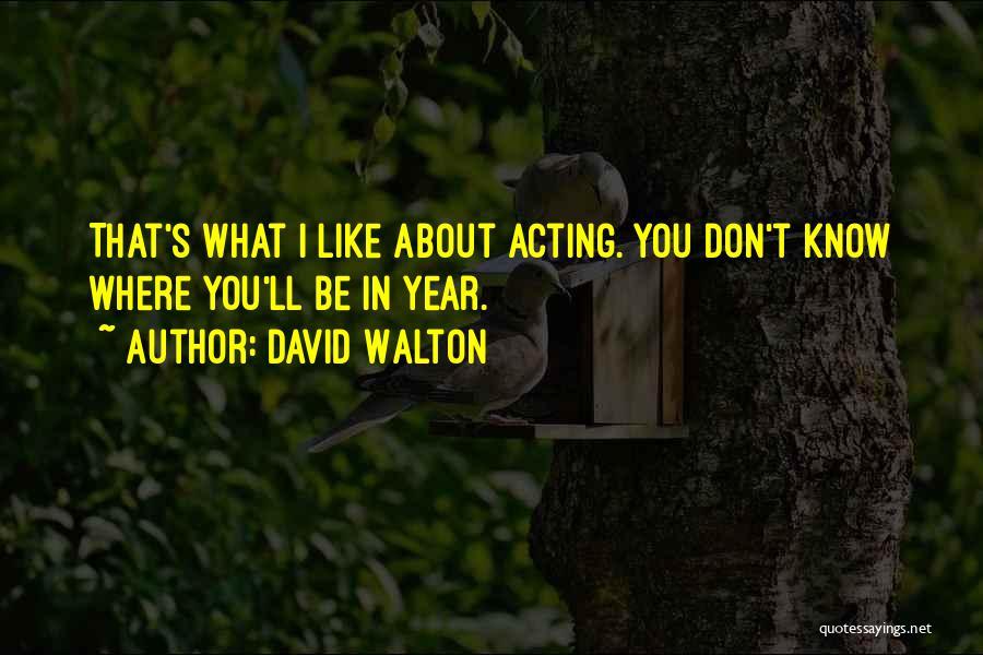 David Walton Quotes 546908