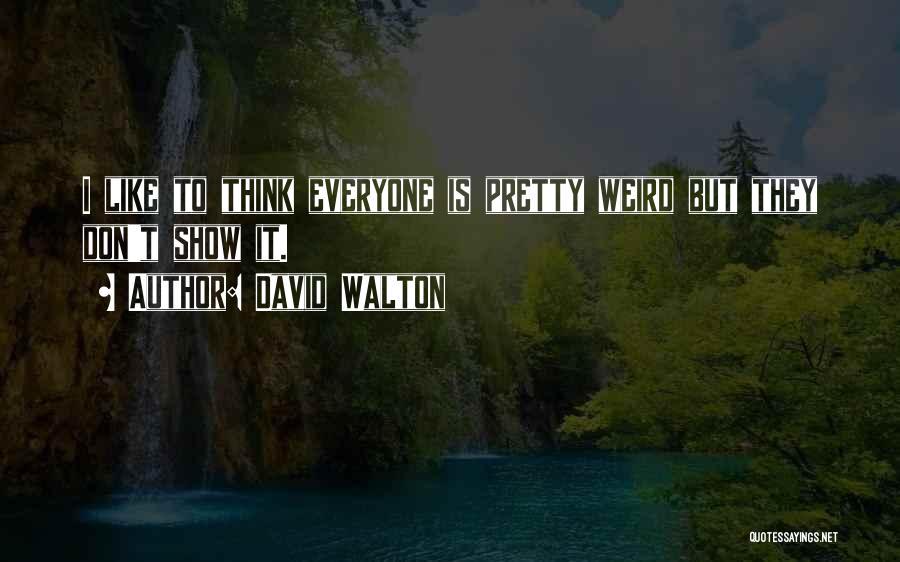 David Walton Quotes 585319
