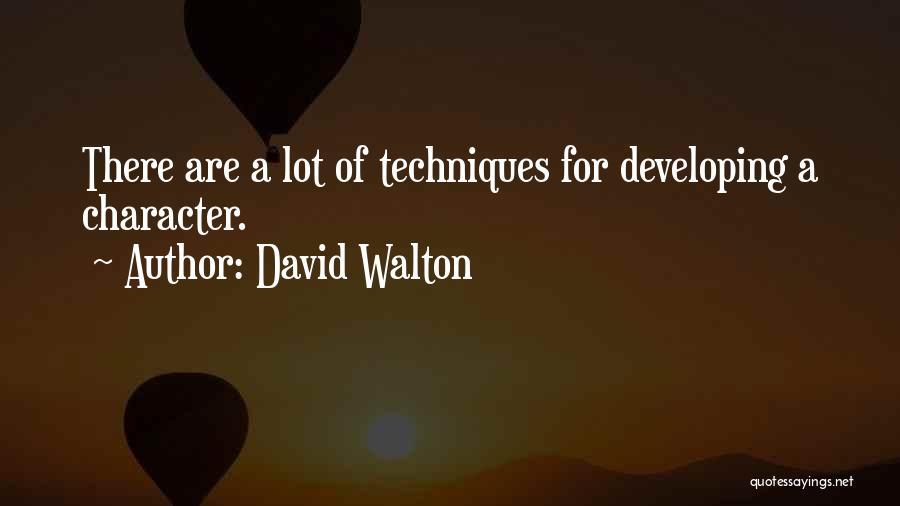 David Walton Quotes 699869