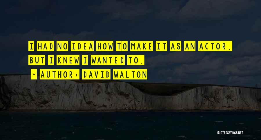 David Walton Quotes 797498