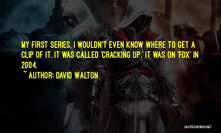 David Walton Quotes 862608