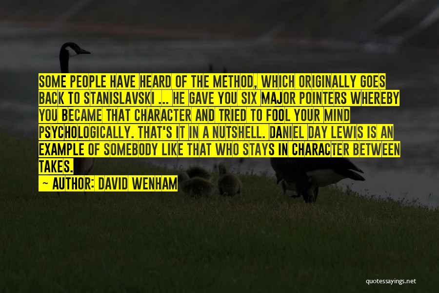 David Wenham Quotes 270103