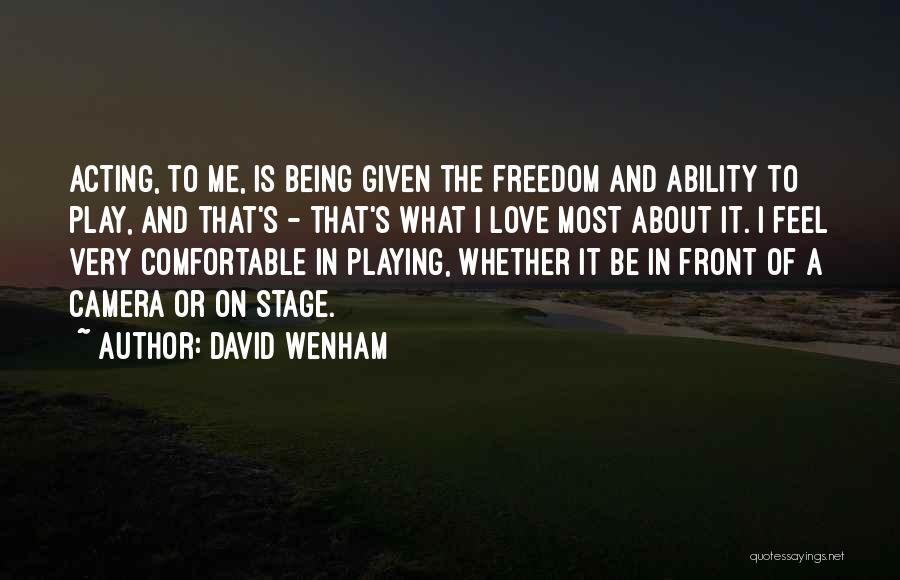 David Wenham Quotes 373630