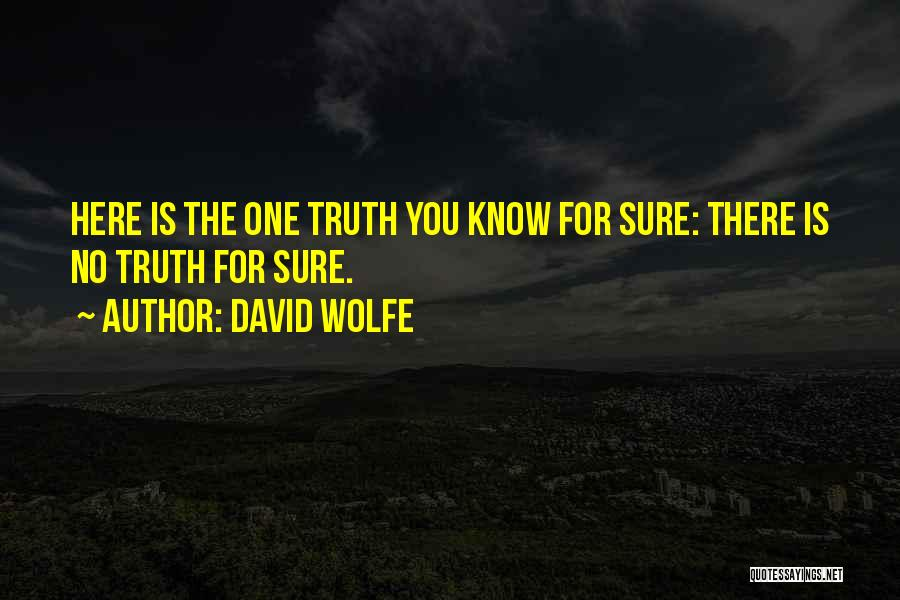 David Wolfe Quotes 1053267