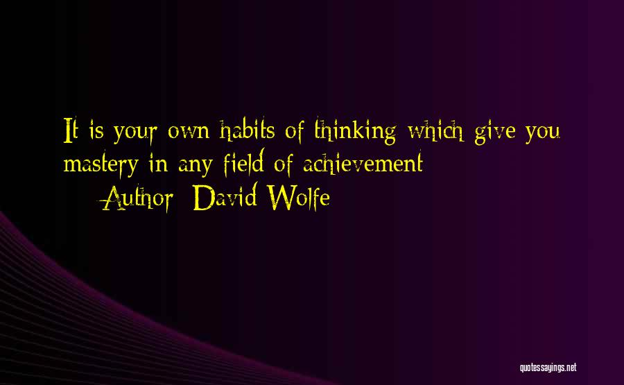 David Wolfe Quotes 1240875