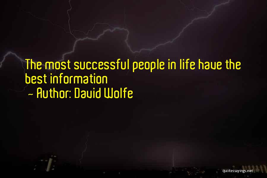 David Wolfe Quotes 1368591