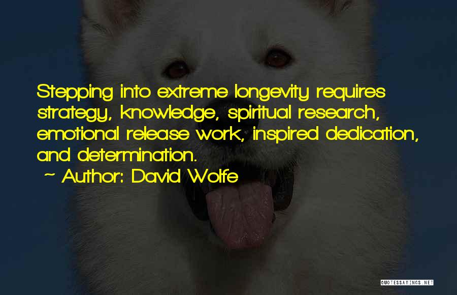 David Wolfe Quotes 1435783