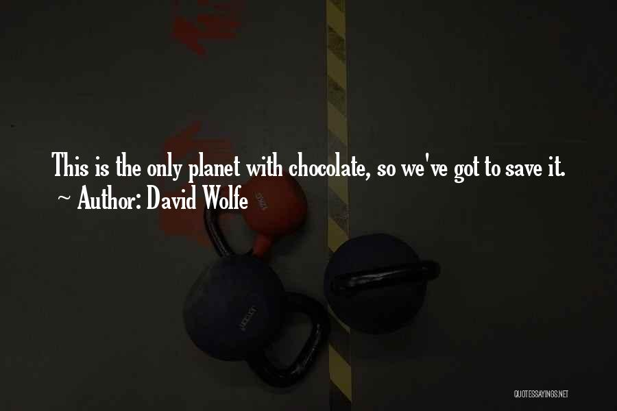 David Wolfe Quotes 1630382