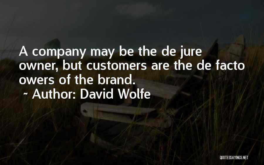 David Wolfe Quotes 1705334