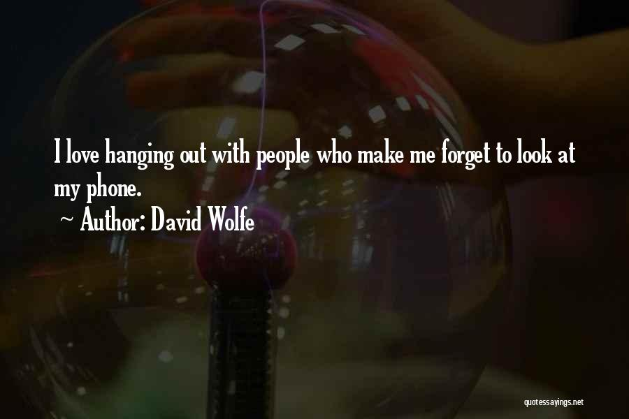David Wolfe Quotes 1838550