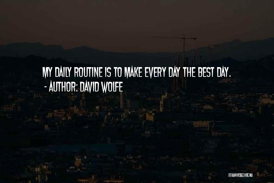 David Wolfe Quotes 281316