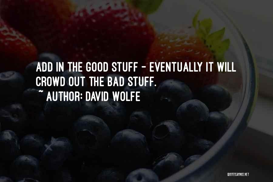 David Wolfe Quotes 736340