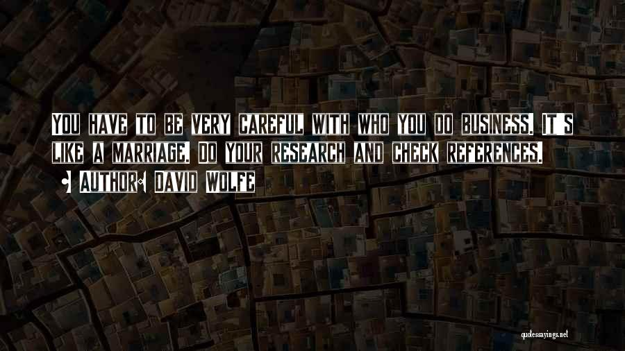 David Wolfe Quotes 757608