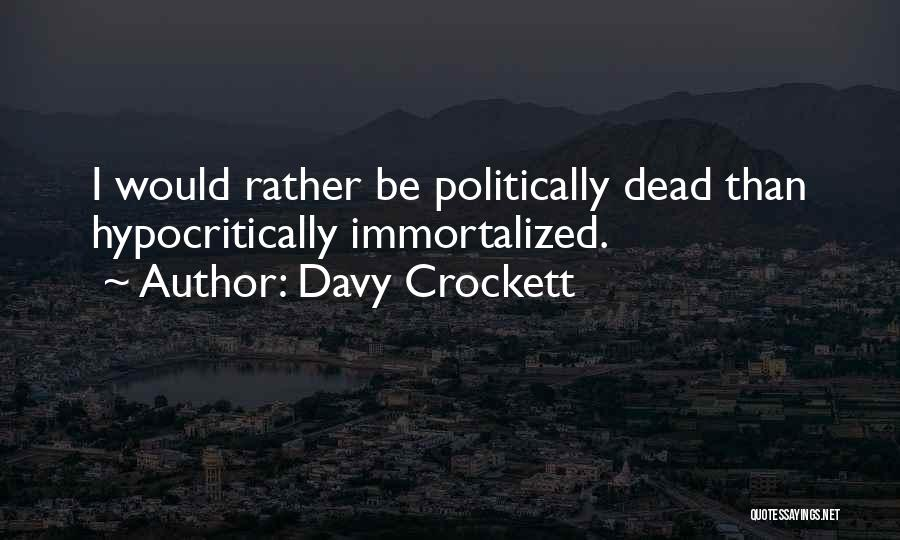 Davy Crockett Quotes 1350997