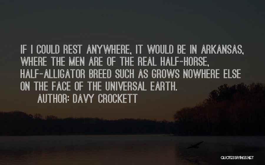 Davy Crockett Quotes 1585893