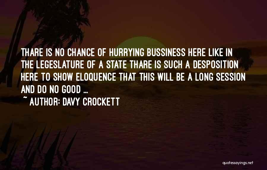 Davy Crockett Quotes 275167