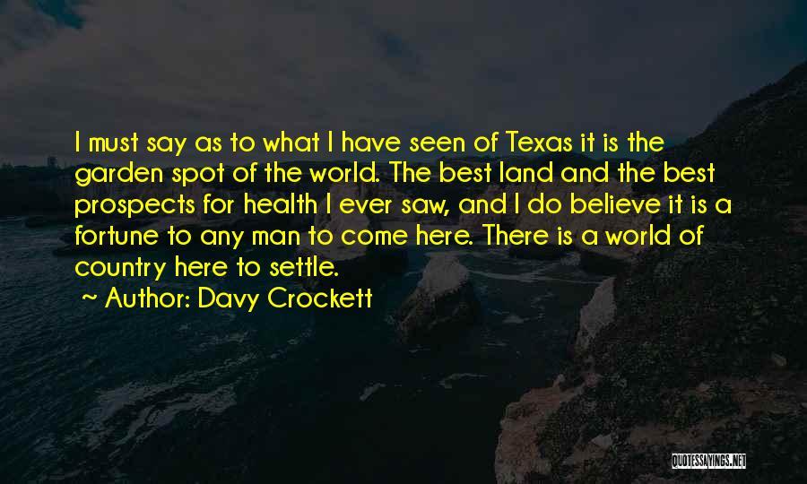 Davy Crockett Quotes 376348