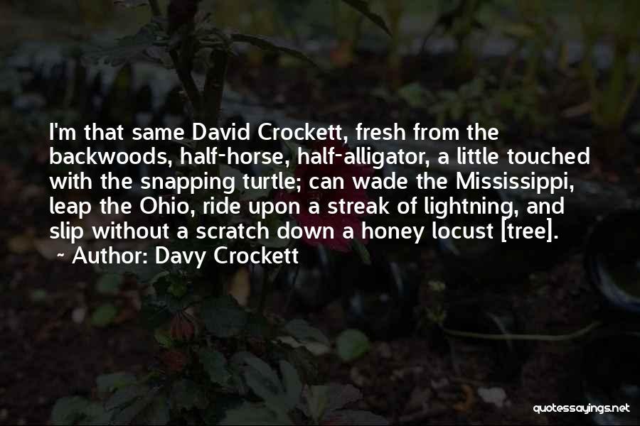 Davy Crockett Quotes 459659