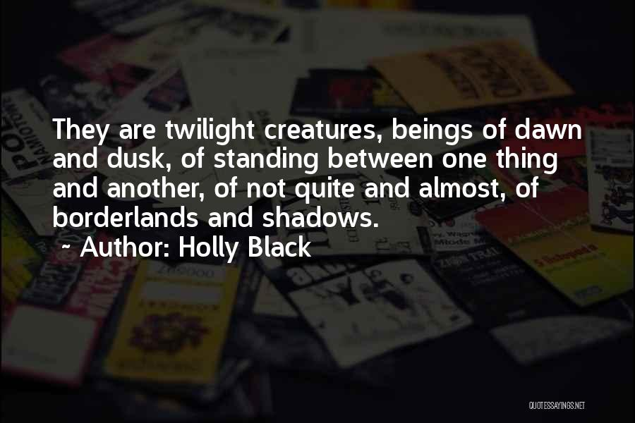 Dawn Till Dusk Quotes By Holly Black