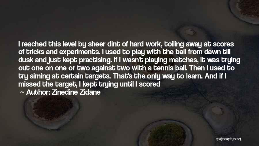 Dawn Till Dusk Quotes By Zinedine Zidane