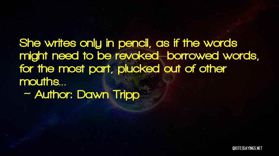 Dawn Tripp Quotes 1806941