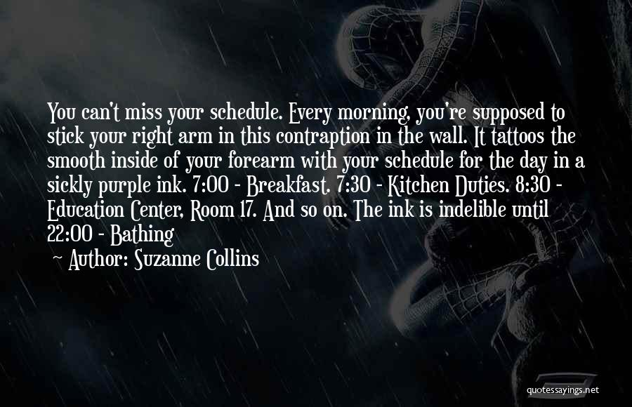 Day Morning Quotes By Suzanne Collins